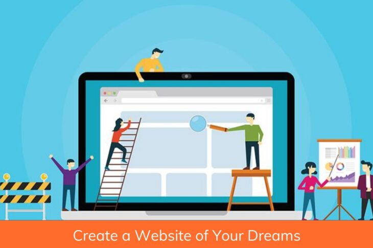 simple steps to create your website